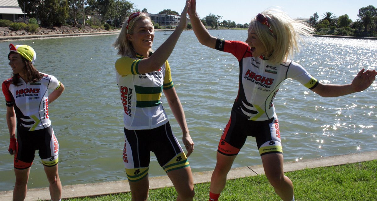 High5 Dream Team Target Santos Women's Tour