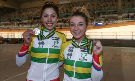 Georgia Baker Wins 2016 Australian Madison Championship