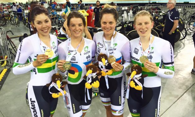 Georgia Baker Wins Team Pursuit Gold In New Zealand