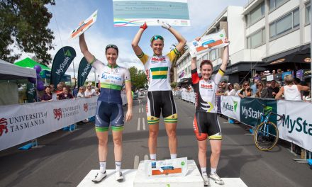 Kimberley Wells Wins 2015 Launceston Cycling Classic Criterium!