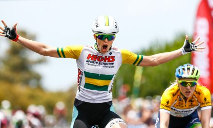 Kimberley Wells Wins 2016 Mitchelton Bay Cycling Classic Stage 2