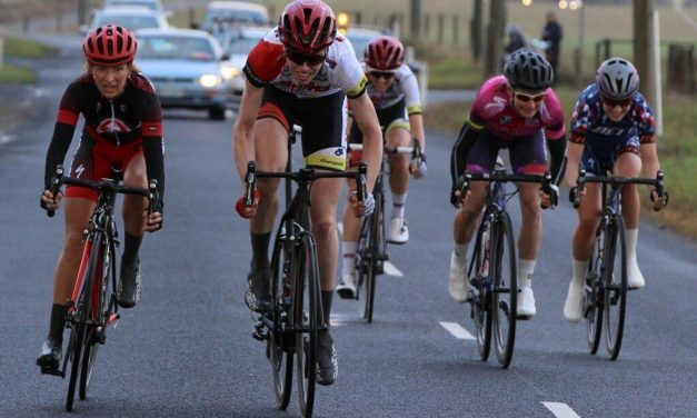 Lisen Hockings Sprints To Mersey Valley Tour Stage 2 Victory