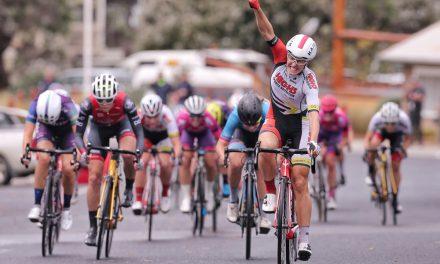 Wiasak Wins Wet & Wild Tour of Gippsland Stage 1