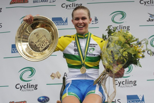 2015 National Crit Champion – Kimberley Wells