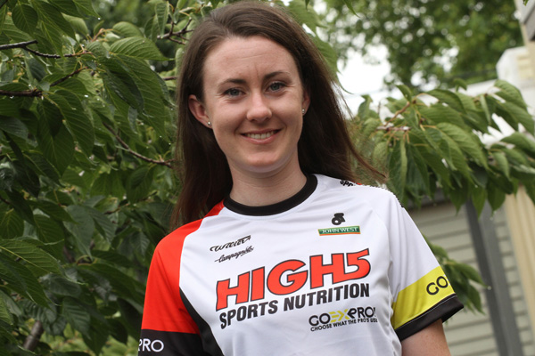"""Kendelle Hodges """"Hoping for a successful year on the bike"""""""