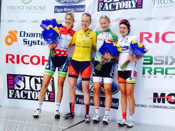 Tessa Fabry Blog: Women's Tour of New Zealand Stage 4