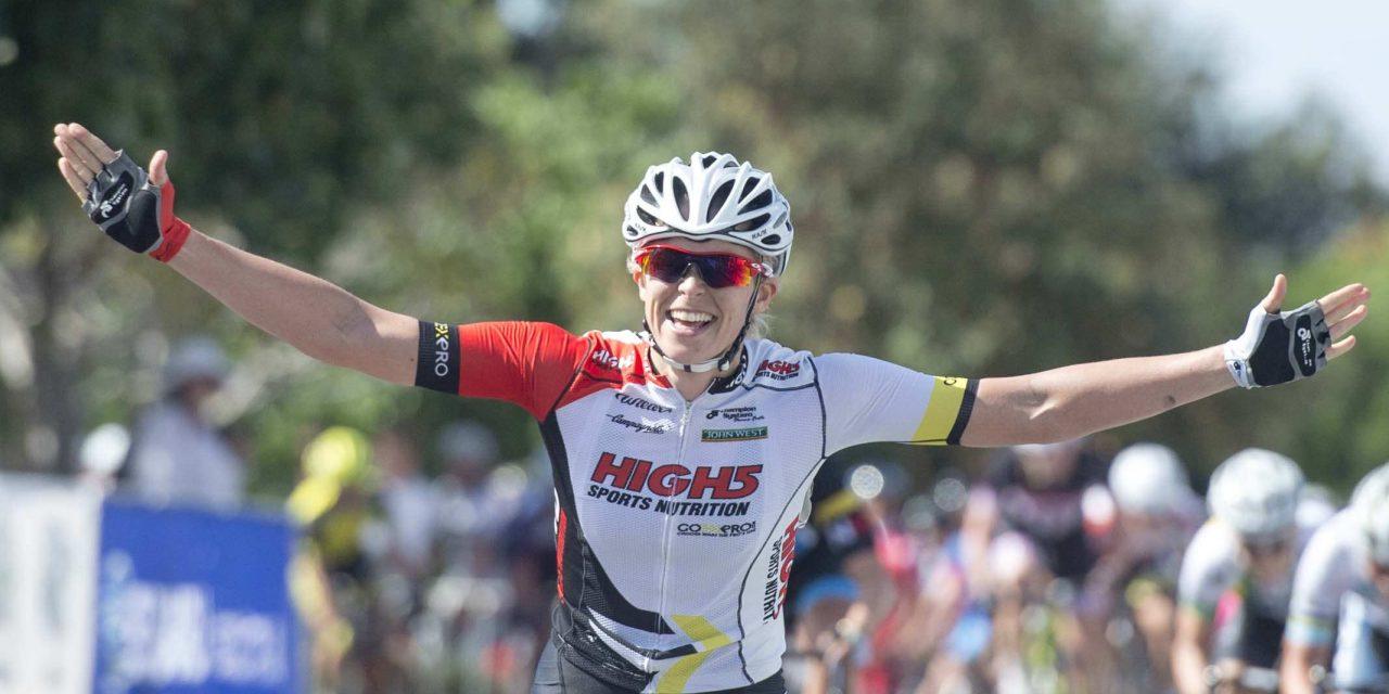 Kimberley Wells Wins Battle on the Border Stage 1!