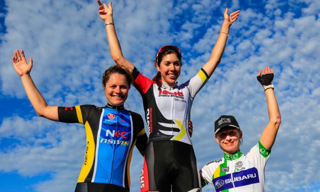 Georgia Baker Wins 2015 Amy's Otway Tour Criterium