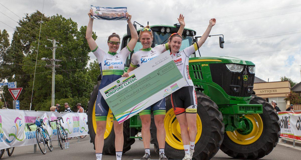 Kendelle Hodges Third In Launceston Cycling Classic Kermesse