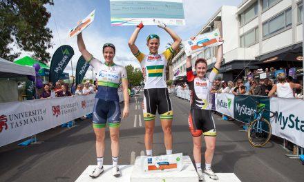Kimberley Wells Wins 2015 Launceston Cycling Classic Criterium!