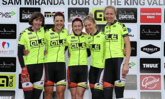 Two Jerseys And A Stage Win Cap Successful Tour of the King Valley