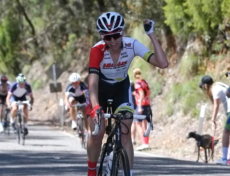 Lucy Kennedy Wins 2016 Tour of Bright