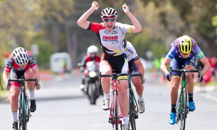 Chloe Moran Sprints to Tour of Gippsland Stage 2 Victory